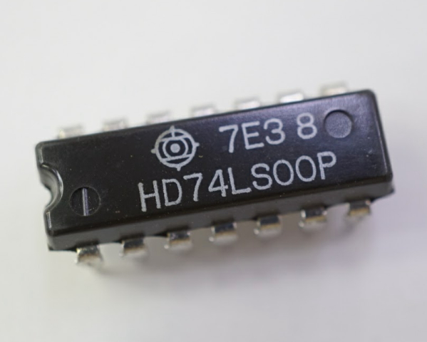 HD74LS00P HITACHI